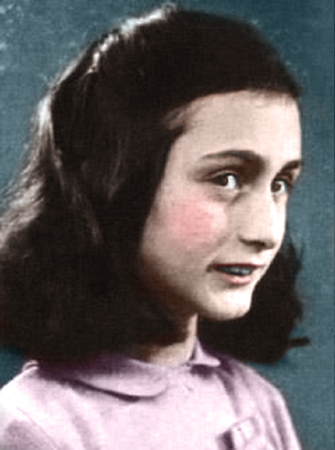 Anne Frank In Color Likest0fightguy Flickr