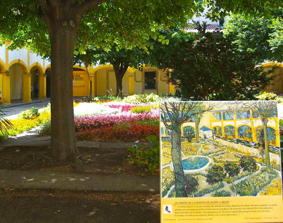 Le jardin de la maison de sant arles maintenant espace for Le jardin 3d