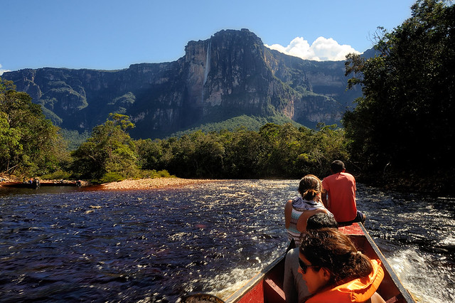 angel falls venezuela waterfall
