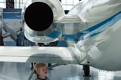 a boy and his jet