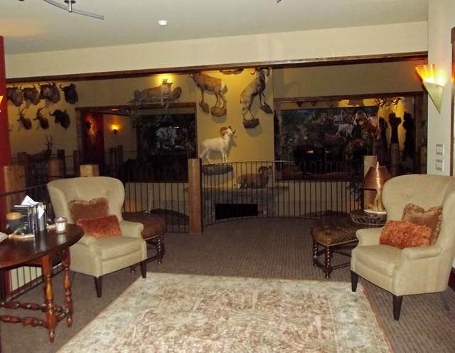 Richie bland trophy room design and furniture flickr for Trophy room design