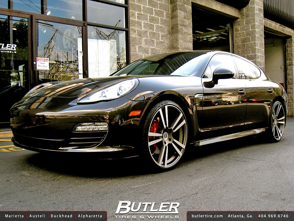 Porsche Panamera With 22in Eurosport Stuttgart Wheels Flickr