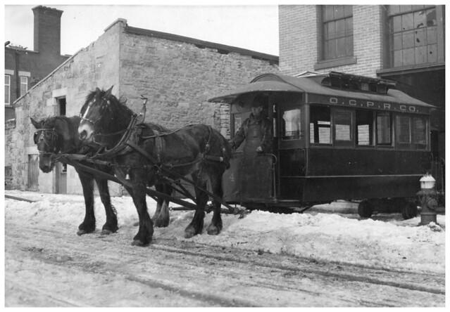 Mobile Tire Service >> HORSE CAR | TRAMWAY TIRÉ PAR DES CHEVAUX | Ottawa City Passe… | Flickr - Photo Sharing!