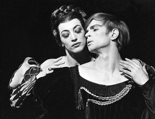 Dame Monica Mason with Rudolf Nureyev in Hamlet (1964) © Donald Southern/ROH 1964 | by Royal Opera House Covent Garden