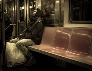 Subway Rider | by Richard Cleaver
