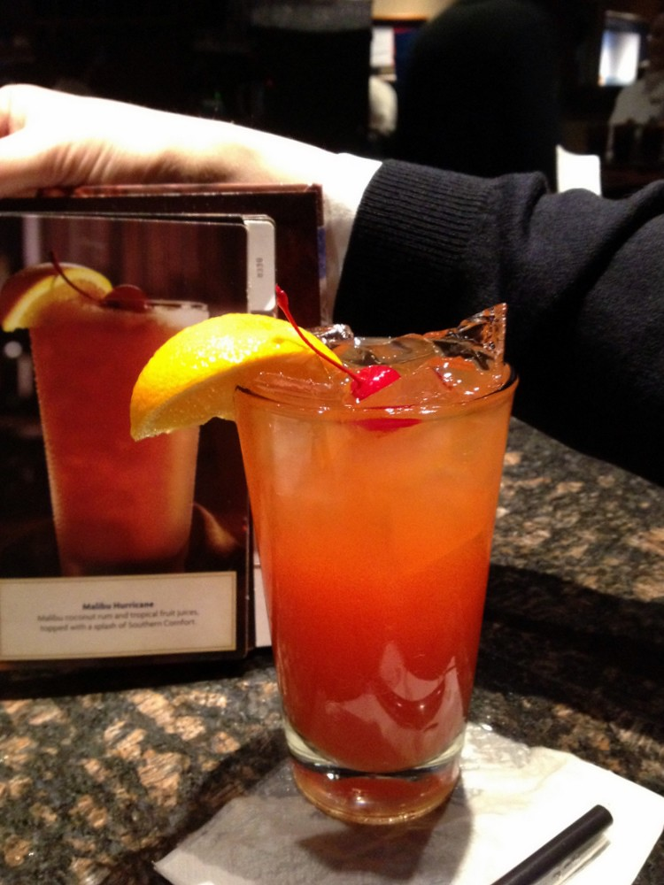 red lobster malibu hurricane | Get the full scoop | Krista | Flickr