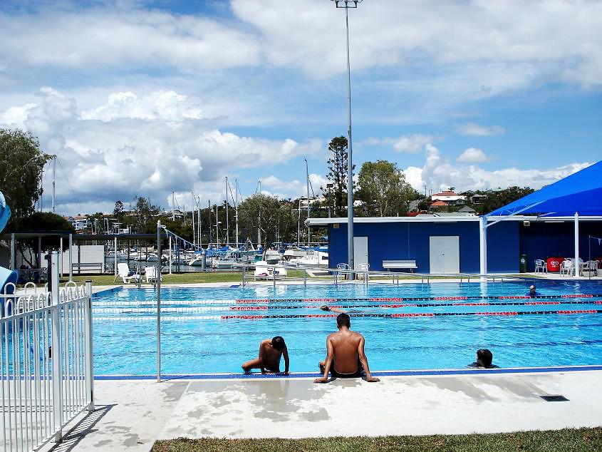 Manly pool 25 metre outdoor pool brisbane city council - Brisbane city council swimming pools ...