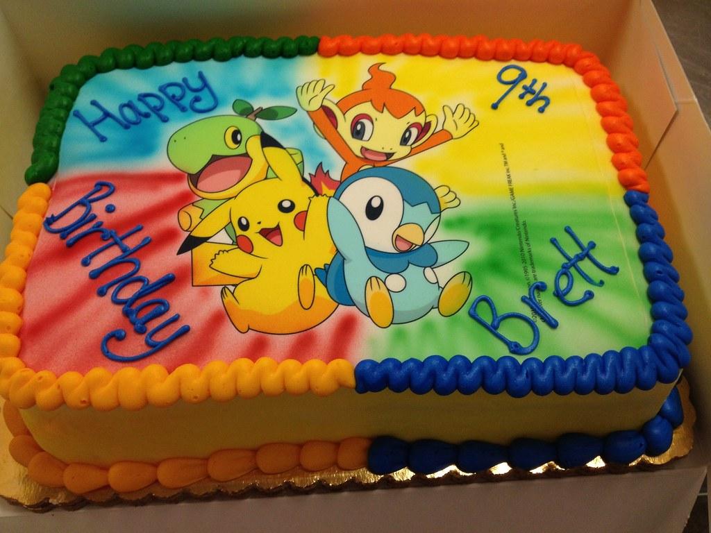 Pokemon Birthday Cake MissLandis Flickr
