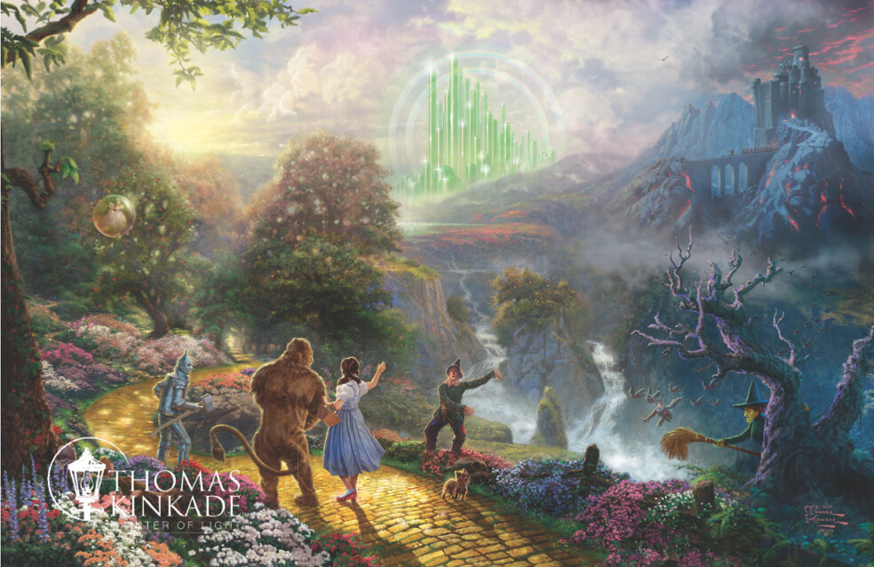 vision of oz in the wizard of oz