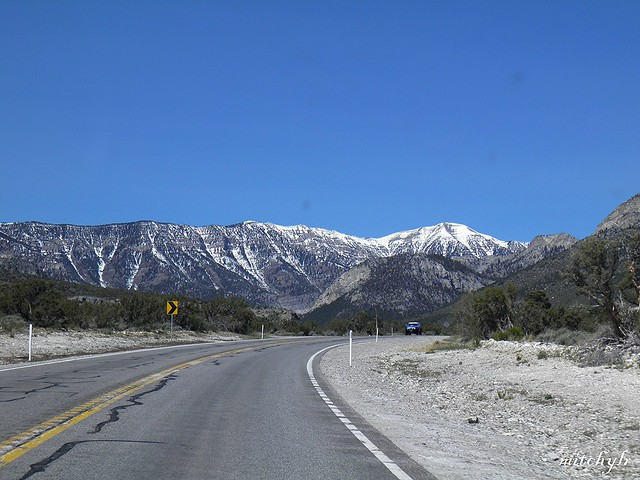 Road To Mount Charleston 2