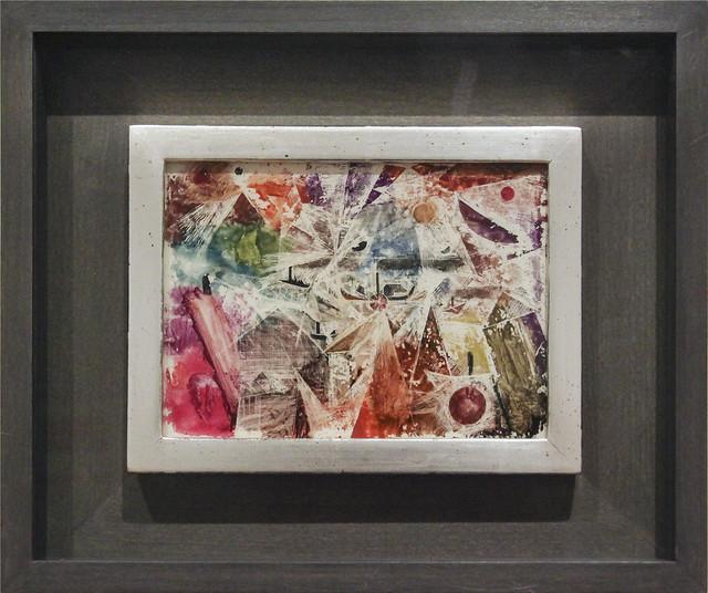Ohne Titel (Schiffe im Sturm), Paul Klee 1919