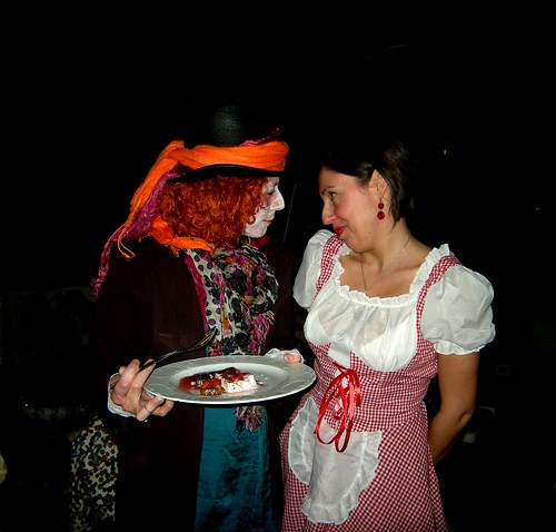 When the Mad Hatter meets Little Red Riding Hood | by micaelacontini