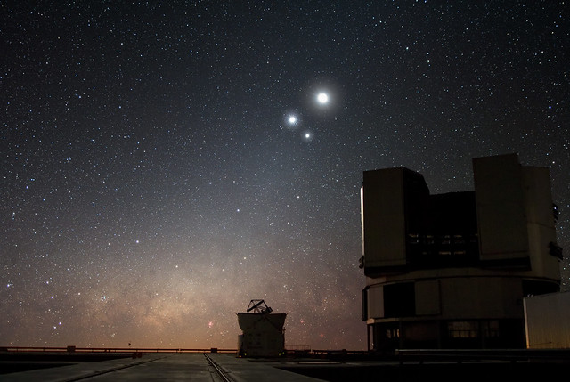Celestial Conjunction at Paranal