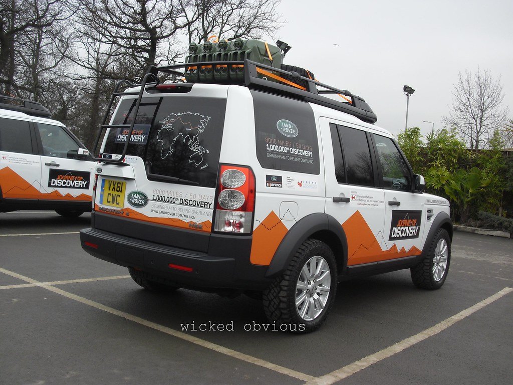 Land Rover Discovery 4 Vx61 Cwc Journey Of Discovery Exp