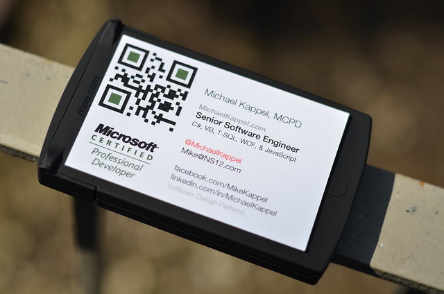 Moo Professional Business Cards : Flickr - Photo Sharing!