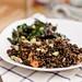 Black Quinoa Salad with Roasted Chard