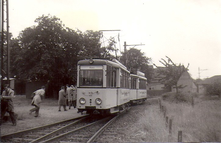 Kleinbahn wesel rees emmerich 1962 1 de wagens 5 for Depot wesel