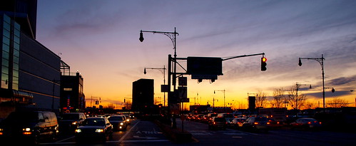 Traffic at dusk - West side | by Dan Mckiernan