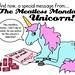 The Meatless Monday Unicorn needs a Valentine