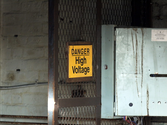 High Voltage Keyboard : Danger high voltage flickr photo sharing