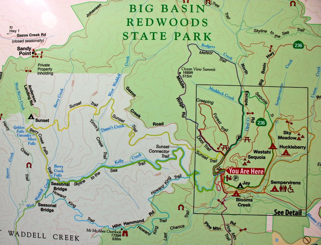 Calaveras Big Trees State Park - YouTube