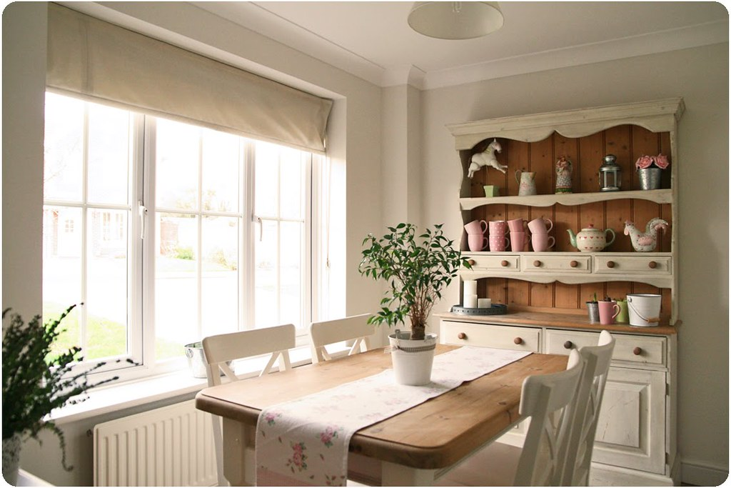 Dining room countrykitty flickr for Arredo giardino shabby chic