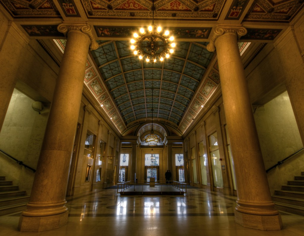 Cadillac Place 1923 Detroit Lobby Series 1 Flickr