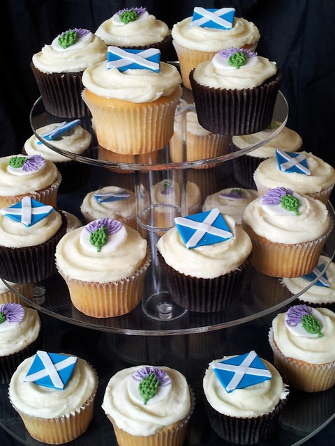 Scottish Birthday Cake Toppers