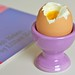 Egg Cups and Soft-Cooked Eggs