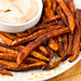 Baked Sweet Potato Fries with Chipotle Ranch