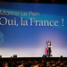 Marine Le Pen en grand meeting présidentiel au Zénith de Paris