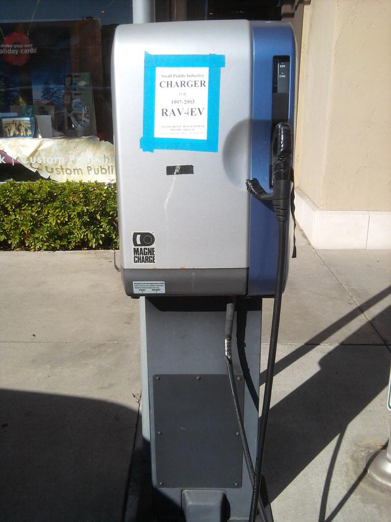 Santa Monica Magne Charge Rav4 Ev Charging Station Flickr