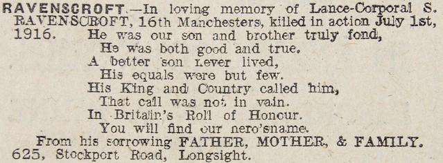 MEN Monday 2 July 1917