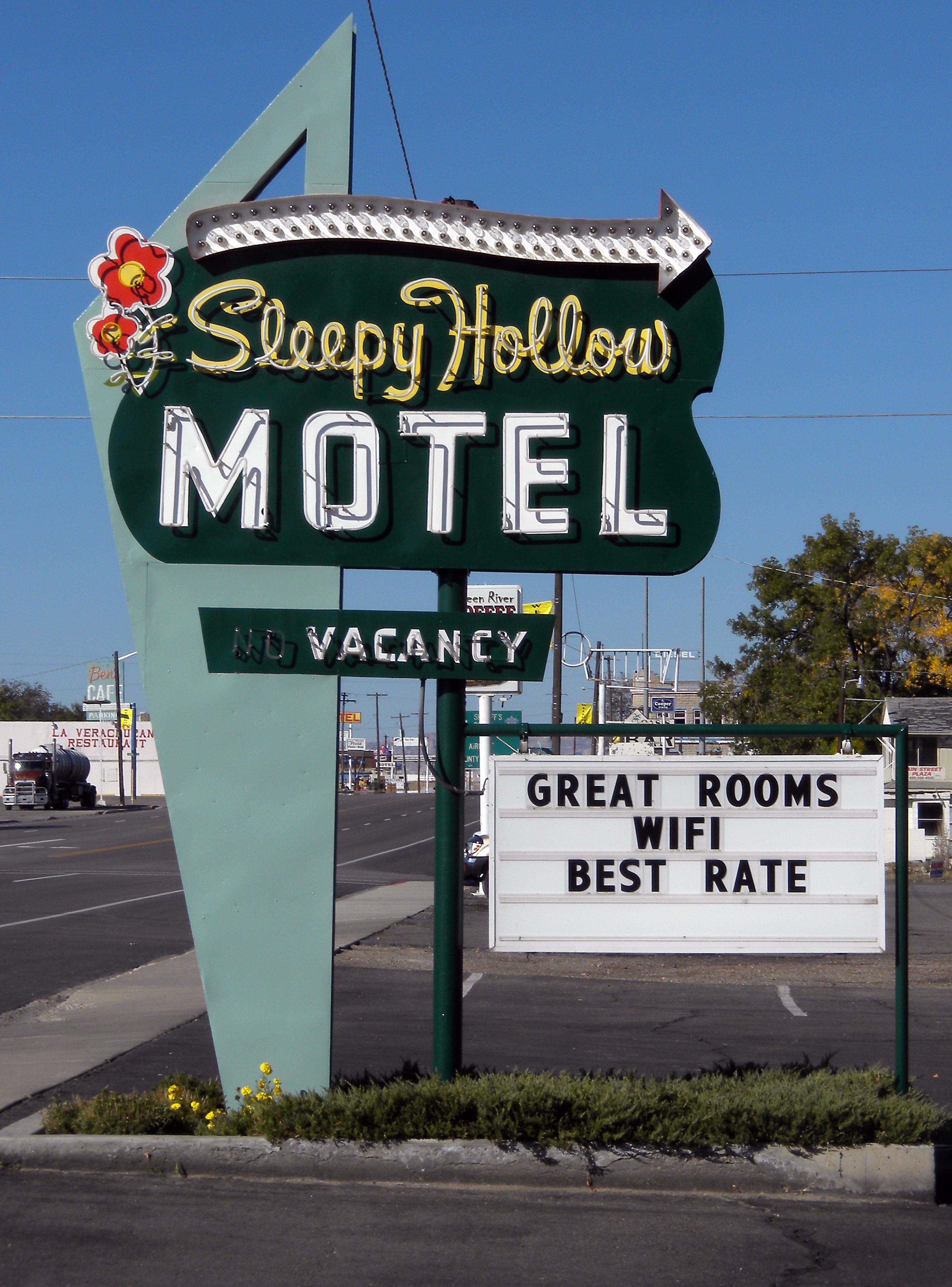Sleepy Hollow Motel - 94 East Main Street, Green River, Utah U.S.A. - May 13, 2016