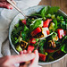 Watermelon & Halloumi Salad with Edamame | Cashew Kitchen