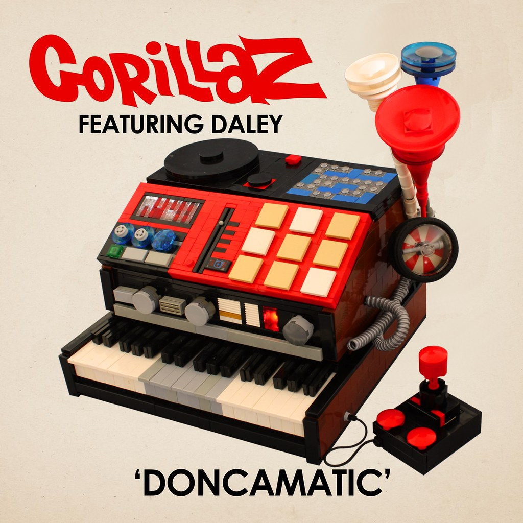 Doncamatic Cover | Gorillaz Featuring Daley for Doncamatic C ...