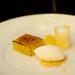 Baked apple terrine, Granny Smith sorbet, Aspall's cider foam