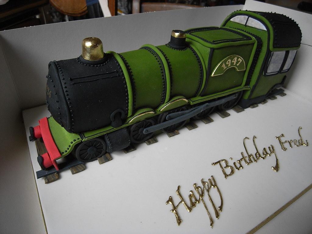 Steam Train Birthday Cake Ideas