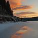 Davis Lake Sunset