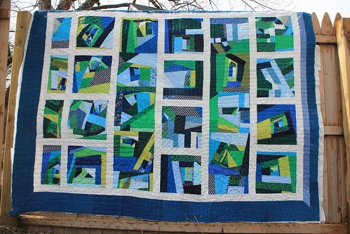 Scrappy Landscapes Quilt | by DanaK~WaterPenny