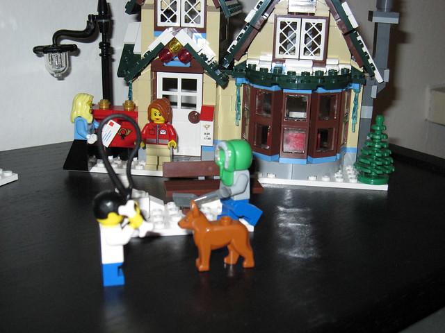 Lego Winter Village 10222 Post Office Set 10222 Was