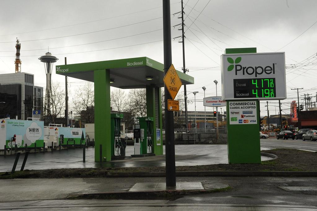 green propel biodiesel station commercial cards accepted flickr. Black Bedroom Furniture Sets. Home Design Ideas