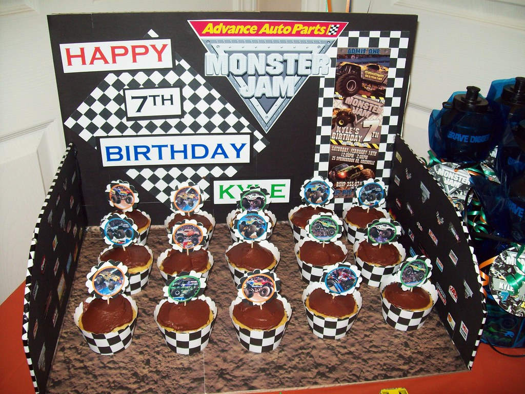 Monster Jam Birthday Party Decorations