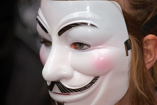 Anonymous contre Acta à Rouen | by zigazou76