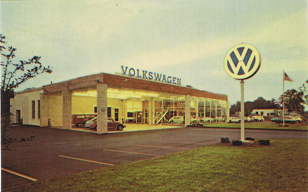 Gene Langan Volkswagen Vintage Post Card View This Post