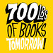 1094 20120501 700lbs of Books Tomorrow!