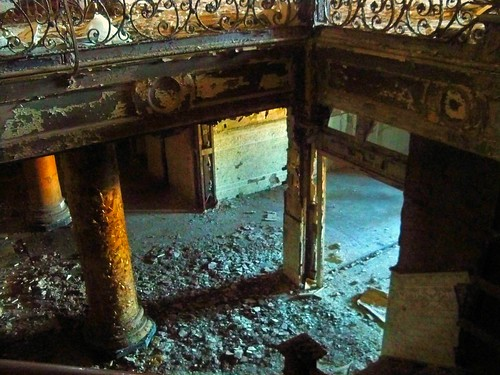 Abandoned Hotel Sterling Video:  As The Vultures Picked Her Bones (An Unemployed Zombie Building Infiltration Specialist Production) | by Cheri Sundra: Guerrilla Historian