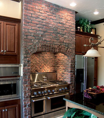 Coronado Stone Products Kitchen Application Clinker Bric