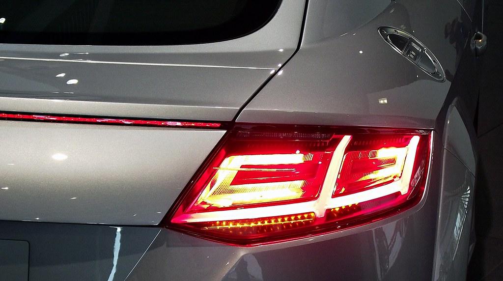 2014 Audi Tt 8s 2 0 Tdi Nanograu Metallic Heckansicht Deta