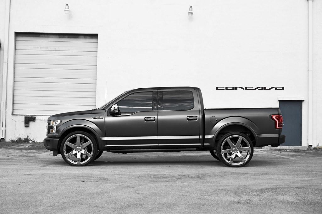 Ford F150 Platinum On Chrome 26 Quot Cw 6 Ford F150 Platinum